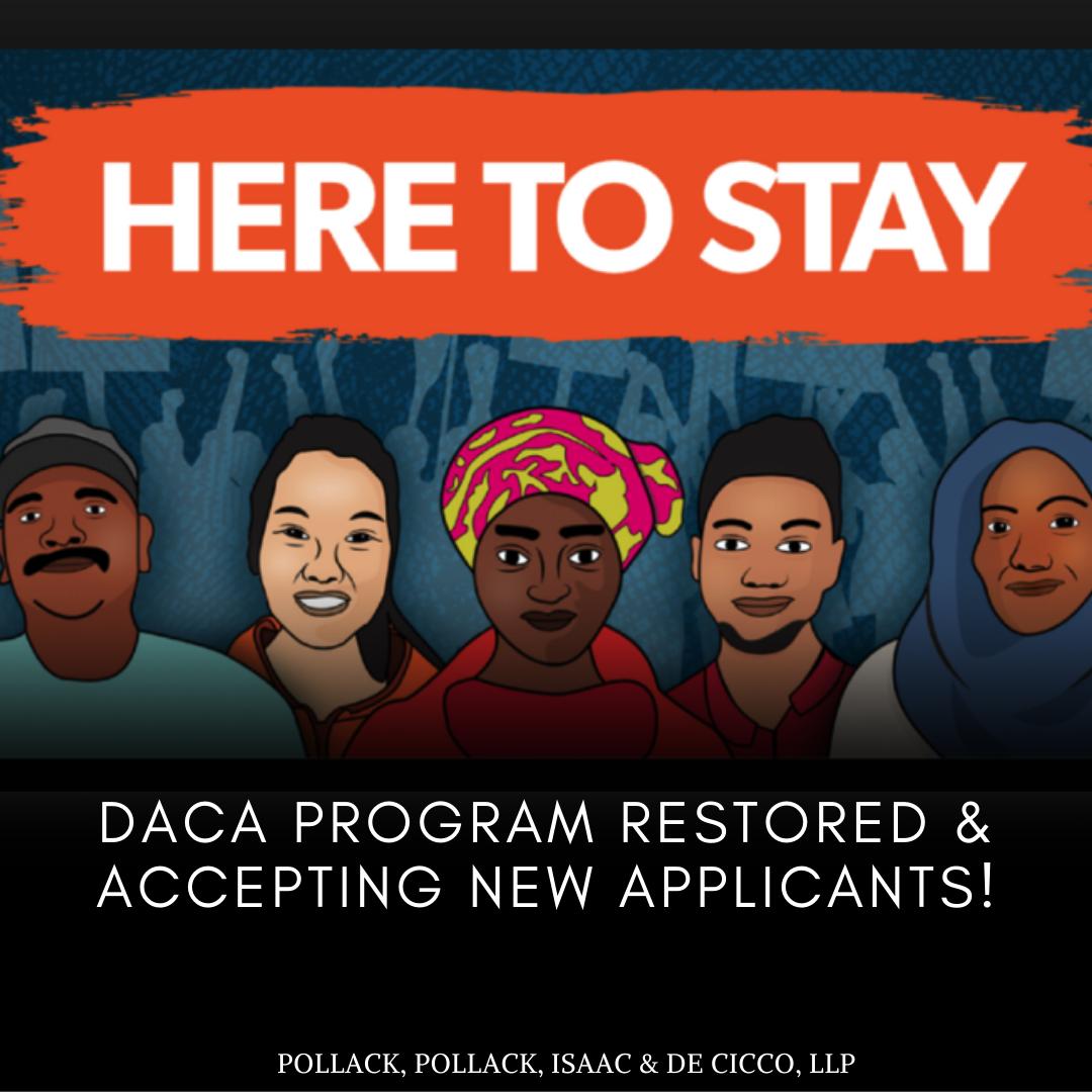 DACA Program Restored